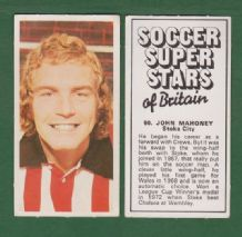 Stoke City John Mahoney Wales 60
